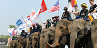 Anantara Hua Hin Hosts the 11th King's Cup Elephant Polo Tournament