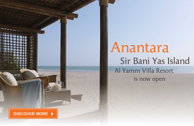 Anantara Sir Bani Yas Island Al Yamm Villa Resort, Abu Dhabi is now open