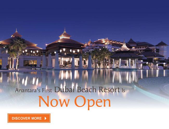 Anantara's First Dubai Beach Resort Opens on Palm Jumeirah